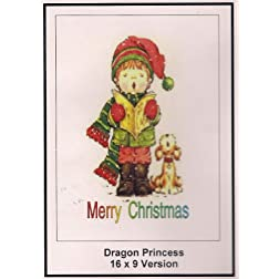 Dragon Princess: Greeting Card: Merry Christmas