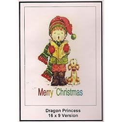 Dragon Princess: Greeting Card: Merry Christmas