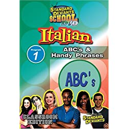 Standard Deviants: Italian Module 1 - ABC's and Handy Phrases