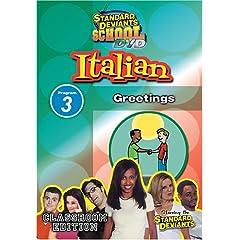 Standard Deviants: Italian Module 3 - Greetings