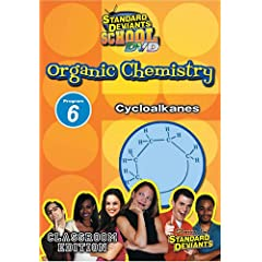 Standard Deviants School - Organic Chemistry, Program 6 - Cycloalkanes