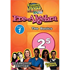 Standard Deviants: Pre-Algebra Module 1 - The Basics