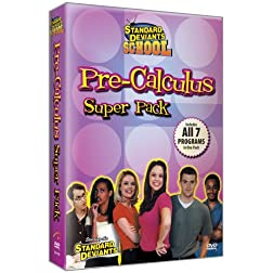 Standard Deviants: Pre-Calculus Super Pack - (7-pack)