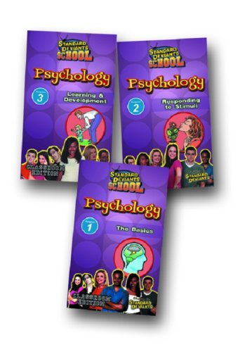 Standard Deviants: Psychology Super Pack (3-pack)