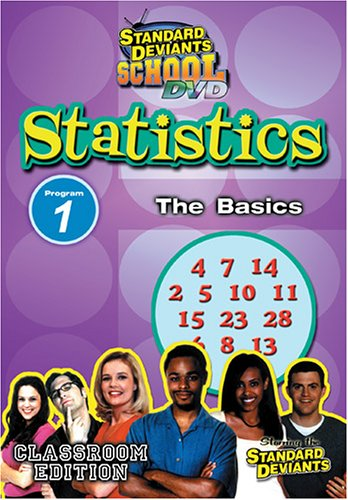 Standard Deviants: Statistics Module 1 - The Basics