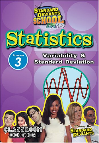 Standard Deviants: Statistics Module 3 - Variability and Standard =