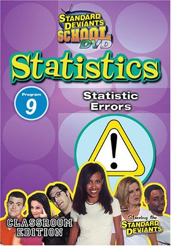 Standard Deviants: Statistics Module 9 - Statistic Errors