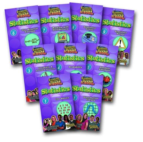 Standard Deviants: Statistics Super Pack (9-pack)