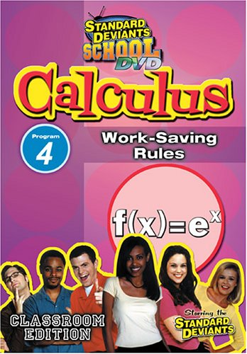 Standard Deviants: Calculus Module 4 - Work-Saving Rules
