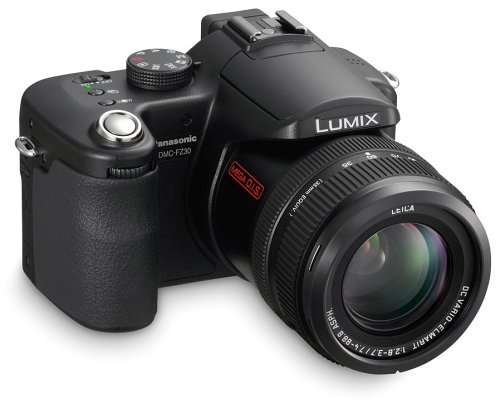 Panasonic Lumix DMC-FZ30K 8MP Digital Camera with 12x Image Stabilized Optical Zoom (Black)