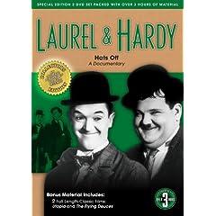 Laurel & Hardy: Hats Off, A Documentary (bonus:Utopia & Flying Deuces)