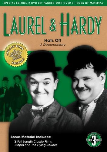 Laurel & Hardy: Hats Off, A Documentary (bonus:Utopia & Flying Deuces)