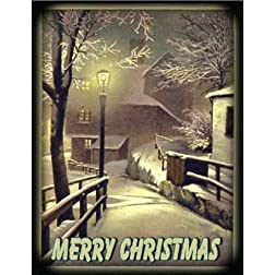 Web of the Spider: 16x9 Widescreen TV.: Greeting Card: Merry Christmas