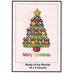 Battle of the Worlds: Greeting Card: Merry Christmas