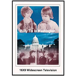 Polly Tix In Washington: Shriley Temple: 16x9 Widescreen TV