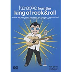 Karaoke from the King of Rock N' Roll