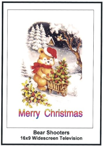 Bear Shtoors: Greeting Card: Merry Christmas
