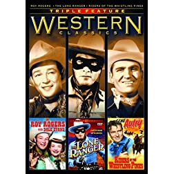 Roy Rogers with Dale Evans/The Lone Ranger/Riders of the Whistling  Pines