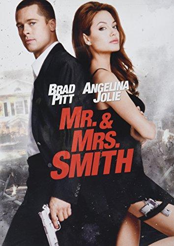 Brad Pitt and Angelina Jolie, Mr. and Mrs. Smith