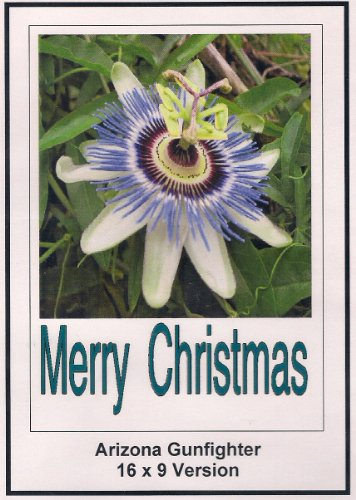 Arizona Gunfighter: Widescreen TV.: Greeting Card: Merry Christmas