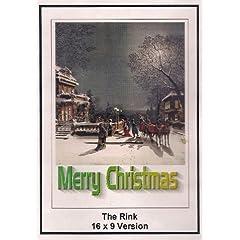 Charles Chaplin: The Rink: 6x9 Widescreen TV.: Mery Christmas