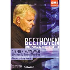 Stephen Kovacevich: Beethoven - Piano Sonatas Nos. 31 and 32 [Region 2]