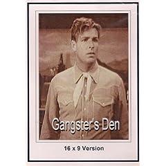 Ganster's Den: 16x9 Widescreen TV.