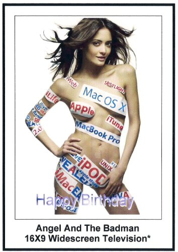 Angel and The badman: Greeting Cards; Happy Birthday