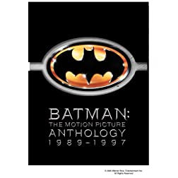 Batman: The Motion Picture Anthology 1989-1997 (Batman / Batman Returns / Batman Forever / Batman & Robin) (Two-Disc Special Editions)