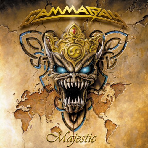 Majestic by Gamma Ray album cover