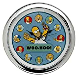 The Simpsons Talking Wall Clock