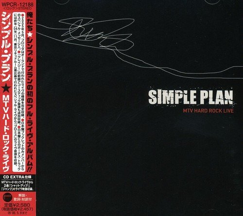 Simple Plan - MTV Hard Rock Live - Zortam Music