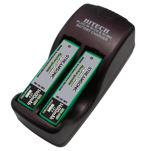 Hitech Prismatic Aa Aaa Batteries Charger Set