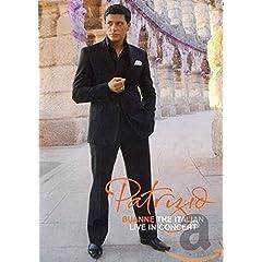 Patrizio Buanne, Live in Concert (IMPORT) PAL DVD