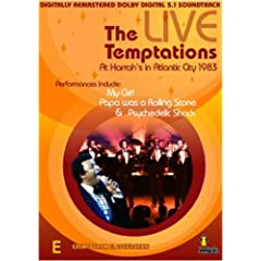Temptations-Live in Concert