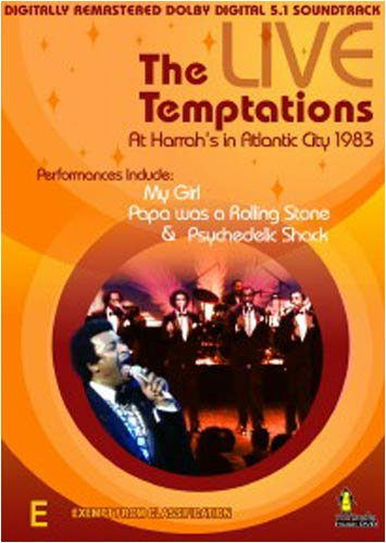 Temptations-Live in Concert
