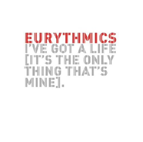 Eurythmics - I