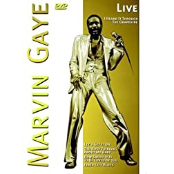 Marvin Gaye-Live