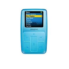 Amazon - Creative Zen Micro Photo 8GB MP3 Player Light Blue - $159.99