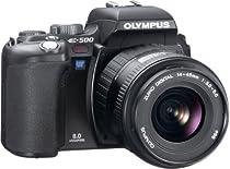 OLYMPUS デジタル一眼レフカメラ E-500 ブラック レンズセット