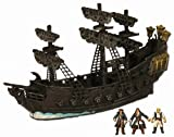Pirate Fleet Black Pearl w/ Jack Sparrow, Will Turner & Gibbs micro figures :  pirate fleet black pearl jack sparrow ship