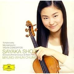 バイオリン協奏曲ニ長調op.35&バイオリン協奏曲ホ短調Op.64/チャイコフスキー&メンデルスゾーン