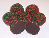 Scott's Cakes 1/2 lb. Chocolate Christmas Balls in a Wreath Box