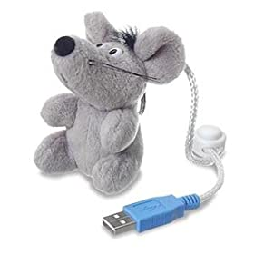 plush flash mouse 128 mb drive