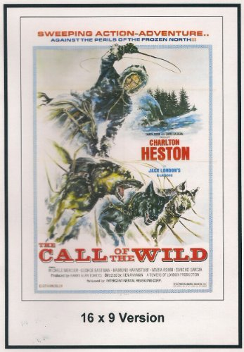 The Call of the Wild: 16x9 Widescreen TV.