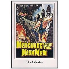 Hercules Against the Moon Men 16x9 Widescreen TV.