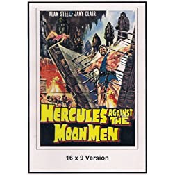 Hercules Against the Moon Men 16x9 Widescreen TV.
