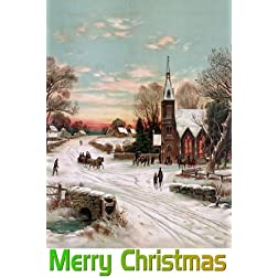 Night Of The Living Dead: 16x9 Widescreen TV.: Greeting Card: Merry Christmas