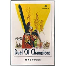 Duel of Champions 16x9 Widescreen TV.