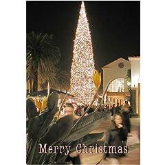 Legend of Bigfoot: Widescreen TV: Greeting card: Merry Christmas